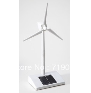 Free shipping DIY solar toy educational kids toys solar windmill for decoration and play(China (Mainland))