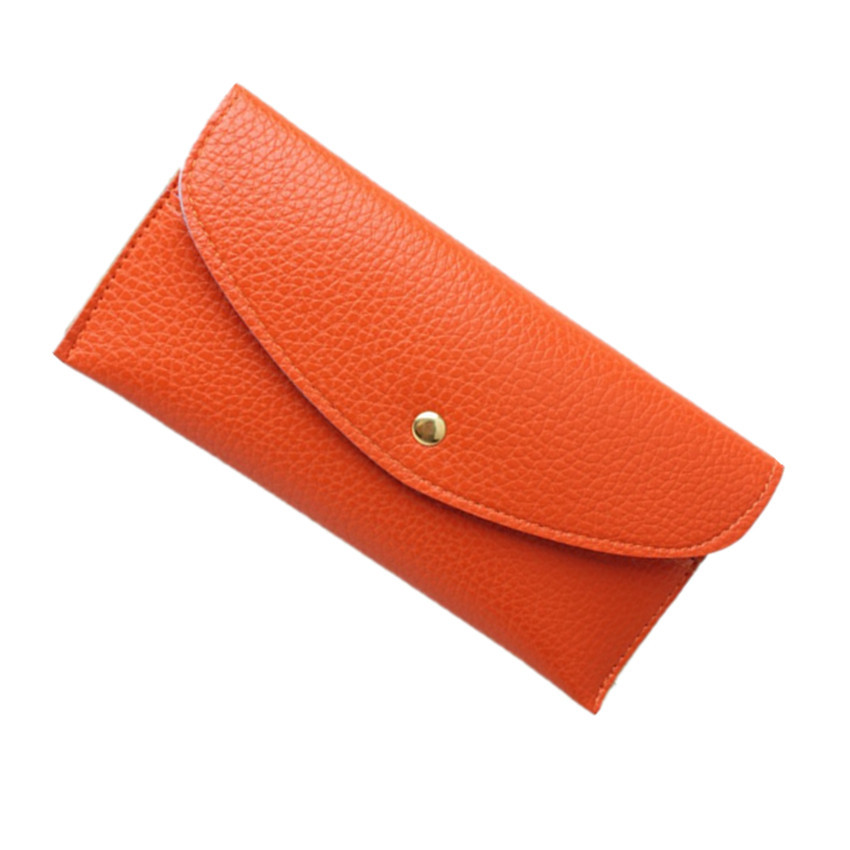 Fashionable casual brief clutch 2013 litchi wallet candy color clutch bag mini envelope day clutch(China (Mainland))