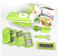 Nicer Dicer Plus Vegetables Fruits Dicer Food Slicer Cutter Containers Chopper Peelers Set of 12 kitchen tools