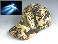 With Extra Battery ! Led Light Camo Fishing Hat Vintage Camouflage Hunting Hat Fishing cap hiking cap