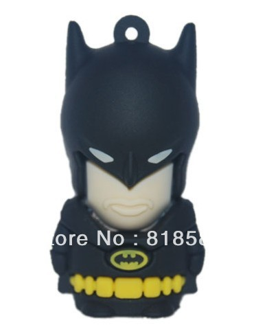 Retail Cool batman usb flash memory drive 4GB 8GB free shipping(China (Mainland))