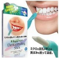 3 pack Teeth Tooth Bleaching Whitening Cleaning Pen Dental peeling Stick + 25 Pcs Eraser Free Shipping