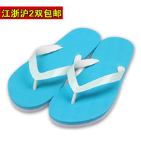 Neon 2012 summer fashion slippers luminous flip flops male female lovers beach slippers