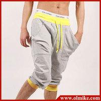 Summer Promotion!!!man's Fashion korean leisure sports shorts for men 3 colors Cotton Blends shorts Asia size S-XXL C408