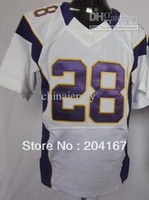 Sportswear # 28 white elite game soccer jerseys drop shipping mix order mix order size40-56