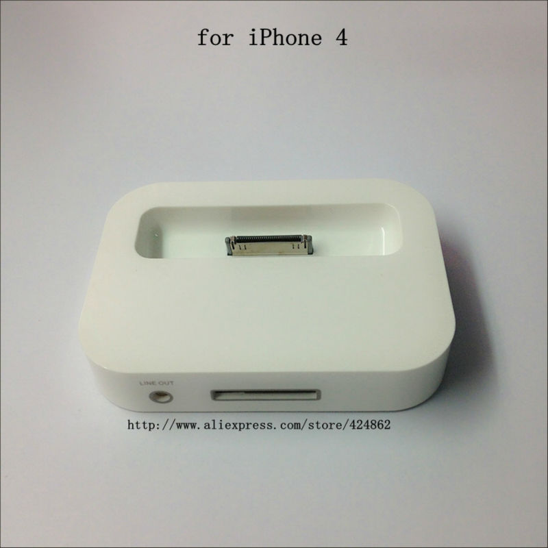 10pcs/lot Sync Charger Station for Apple IPHONE 4 3GS more items better price in 2013 fast shipping(China (Mainland))