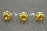 4 pieces Gold Plated RCA Cap Plug Short-Circuit Socket Phono Connector
