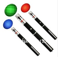 3PCS Laser Pointer Pen Combo 100MW Green + 50mw Blue/Violet + 100mw Red+free shipping