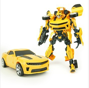 Deformation robot toys, Bumblebee, acousto-optic function, robot toy model(China (Mainland))