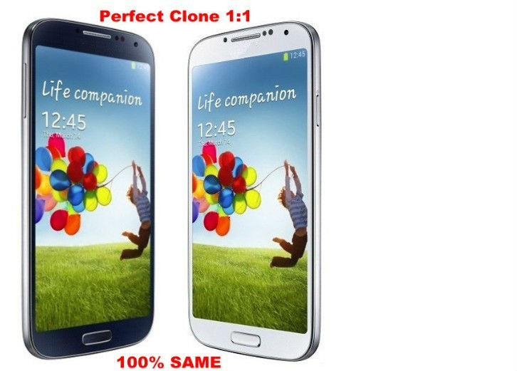 2013 King of phone! S4 I9500 5.0 &#39;&#39; IPS +LOGO under on the glass GPS WCDMA 3G S4 I500 phone(China (Mainland))