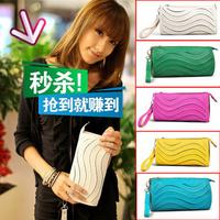All-match candy wave women's handbag day clutch cross-body small wallet shoulder bag female bags