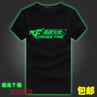 Cf luminous short-sleeve t-shirt clothing jersey lovers 100% cotton summer the sign