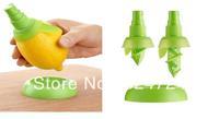 Freeshipping Creative ABS Lemon Sprayer HandJuicer Mini Squeezer Kitchen Helper/tools Set  Lemon Juicer 3set