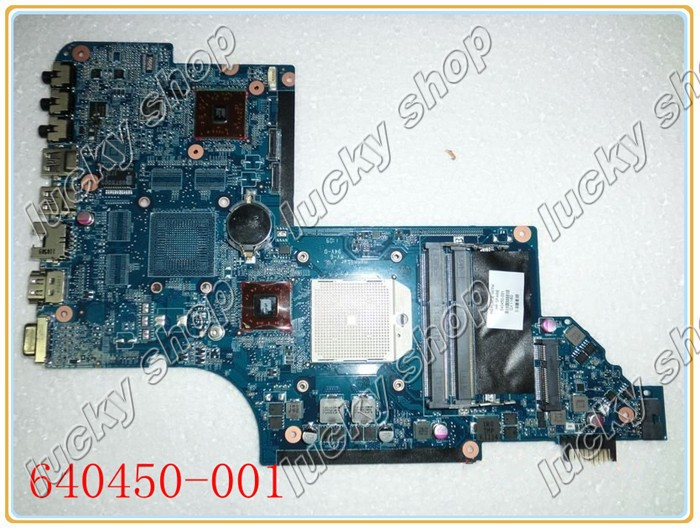 640450-001 for HP Pavilion dv6-6000 Entertainment Notebook PC /Laptop Motherboard 100% Tested(China (Mainland))