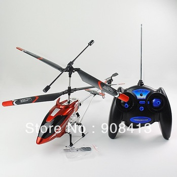 3CH Transmitter Wireless Infrared RC Remote Control Helicopter Metal Coaxial with Gyroscope