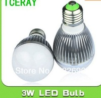 3W 5W 7W 9W 10pcs/lot High power led spotlight bulb E27 GU10 GU5.2 3W Warm white/cold white AC85-265V Free Shipping