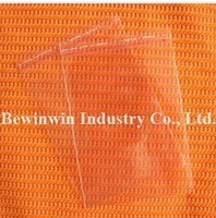 clear Poly Bag in size 14x23cm with self adhesive seal for retail & wholesale
