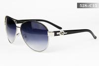 2013 Free Shipping New Fashionable Western Classics Brand Design Popularity Sunglasses Metal Frame Metal-PC Legs Hot Glasses 528