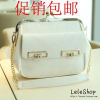 2013 women's handbag summer fashion bag embossed serpentine pattern chain women's handbag shoulder bag messenger bag