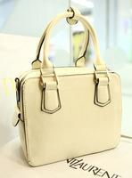 Leleshop 2013 brief all-match box handbag shoulder bag double zipper women's handbag