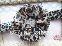"""Baby headbands 2.5"""" Chiffon Shabby Flower Headband for baby photograph 40pcs/lot"""