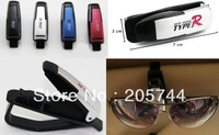 10 pcs / lot car eyeglasses clip frame business card holder free shipping via china post air