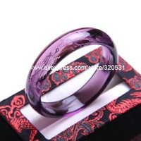 15mm amethyst dragon and phoenix bracelet