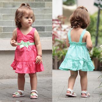 Summer summer female child dress one-piece dress 0-1 year old one-piece princess dress one-piece dress baby dress baby skirt