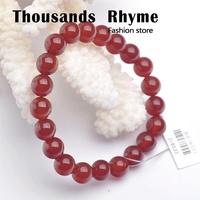 Natural red agate bracelet bracelets girls bracelet mm