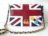 Hot Women Lady England National Flag Medal Messenger Hand Shoulder Bag Purse