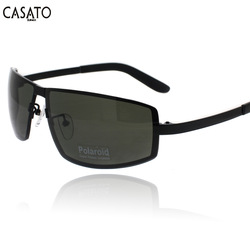 glassesworld 2013 new fashion sunglasses man style polarized lens UVA UVB acetate tip silica gel pad(China (Mainland))