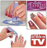 Salon Express New DIY Design Kit Professional Nail Art  Stamp Stamping  kit  Polish Nail Decoration as seen on tv  T1005