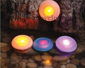 360 pcs/lot colourful 7 colours changable LED Elactronic Candles SPA Candle Lamp Small Night Light with sucker water proof
