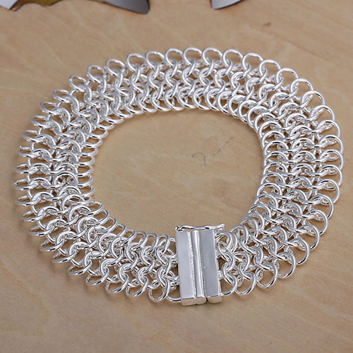 Lose Money! Free Shipping Wholesale 925 silver bracelet, 925 silver fashion jewelry Big Centipede Bracelet H005(China (Mainland))