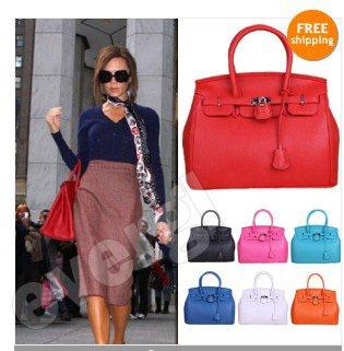 2012 New ArrivalsSuper Star Shoulder Tote Boston HOBO Bag Handbag HOLLYWOOD 7 Colors GL(China (Mainland))