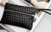 Fashion Women's Clutch Purse Bag PU Leather Mini-Handbag