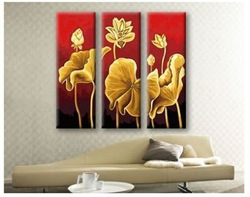 Free shipping 90 * 90cm Modern abstract Panel Oil Painting flowers wall decoration for sittiing room(China (Mainland))