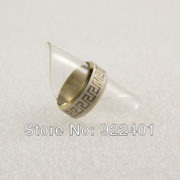 2013 Low Price Newest stainless steel ring jewelry,hot style,R-1001(China (Mainland))