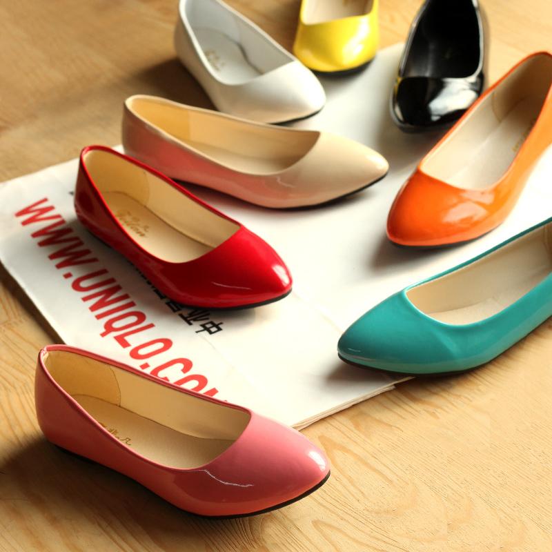 Модные цвета балеток
