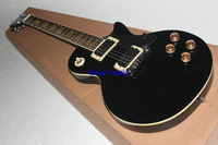 (Free shipping) Custom Standard black  color  Electric Guitar China producer factory store