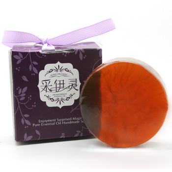 Tea polyphenols handmade soap facial soap face-lift slimming stovepipe essential oil soap acne oil control
