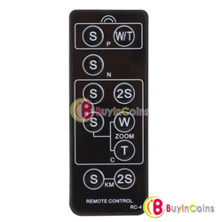 Wireless IR Infrared RC-4 Camera Shutter Remote Control for Sony Canon Nikon [22923|01|01](China (Mainland))