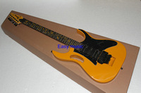(Free shipping) JEM 7V  Electric Guitar yellow Color