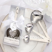 "NEW ARRIVEAL+ ""Love Beyond Measure"" Measuring Spoons In White Box Wedding Favors(RWF-0073P)+100sets/lot+FREE SHIPPING"