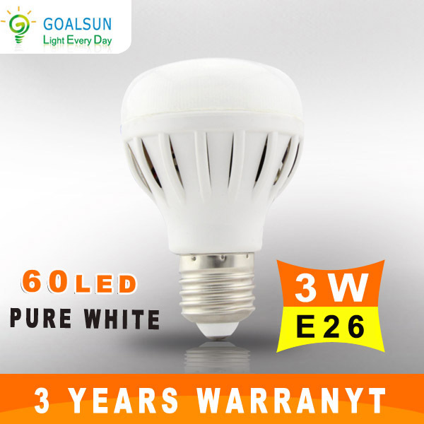New style!! 3W 4W 7W High lumen LED Ball Bulb light bulbs for home free shipping(China (Mainland))