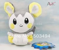 "Free Shipping 1pcs Pokemon Plush Toy Emolga plush 6"" 15cm Cute Soft Stuffed Animal Doll Kid Gift"