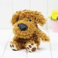 Free shipping 1 pcs Russian english speaking hamster and dog , dog Talking Plush Toy Talking Animal