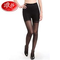 Langsha stockings women's ultra-thin legs pantyhose jacquard silk stovepipe socks
