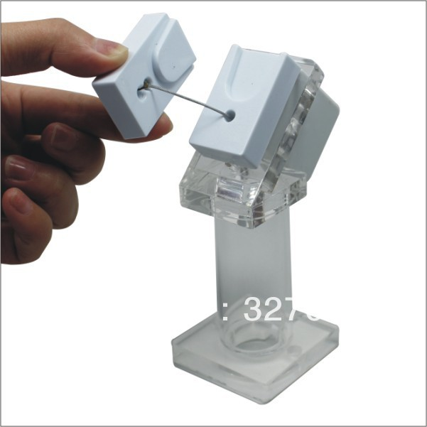 5PCS wholesale:low price,flexible and security display holders/stands for mobile phone(China (Mainland))