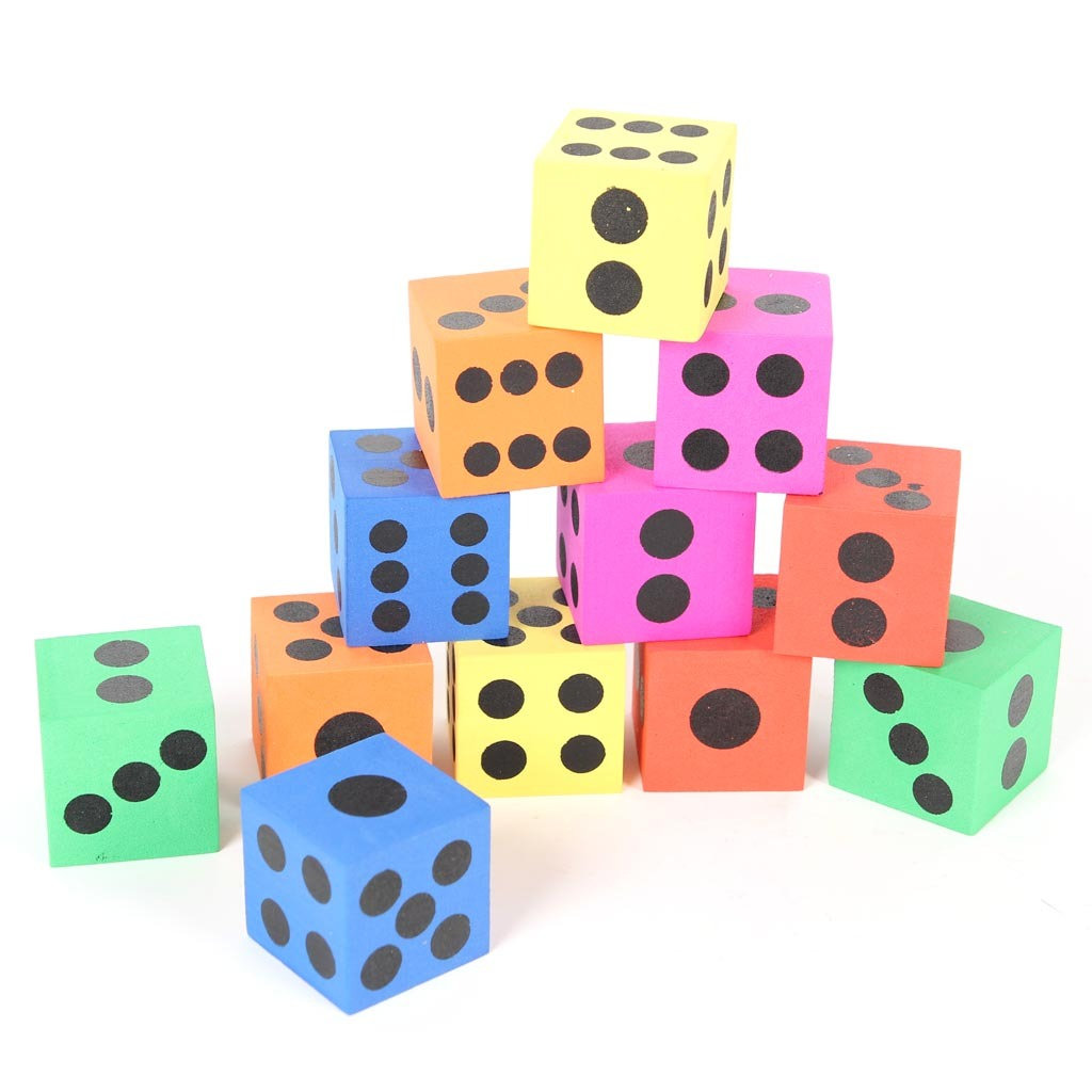 Child foam dice toy fun foam blocks toy combination 12 0.12(China (Mainland))